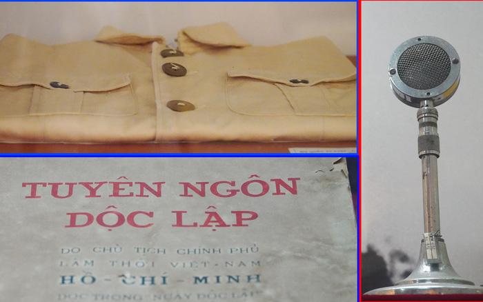 Những hiện vật gắn liền với ngày khai sinh nước Việt Nam Dân chủ Cộng hòa
